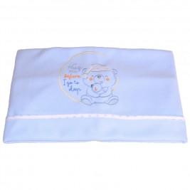 Κουβέρτα Πικέ Κούνιας Κόσμος Του Μωρού 0391 Sleep Σιέλ
