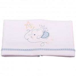 Κουβέρτα Πικέ Κούνιας Κόσμος Του Μωρού 0376 Hard Day Σιέλ