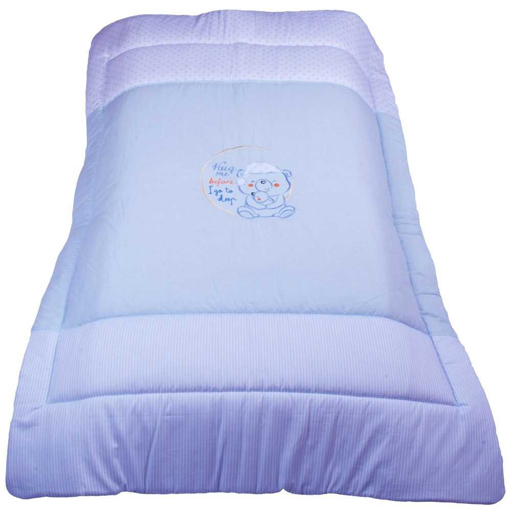 Πάπλωμα Κούνιας Κόσμος Του Μωρού 7954 Sleep Σιέλ