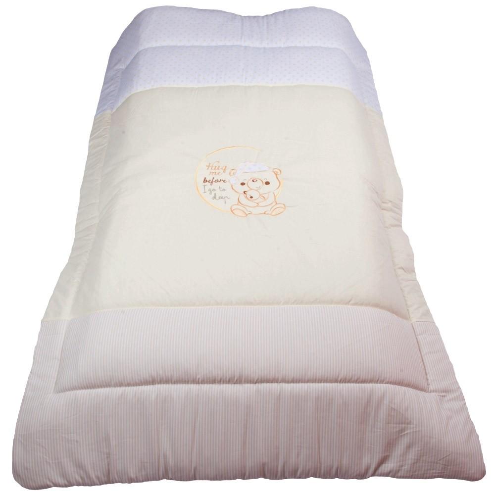 Πάπλωμα Κούνιας Κόσμος Του Μωρού 7958 Sleep Εκρού