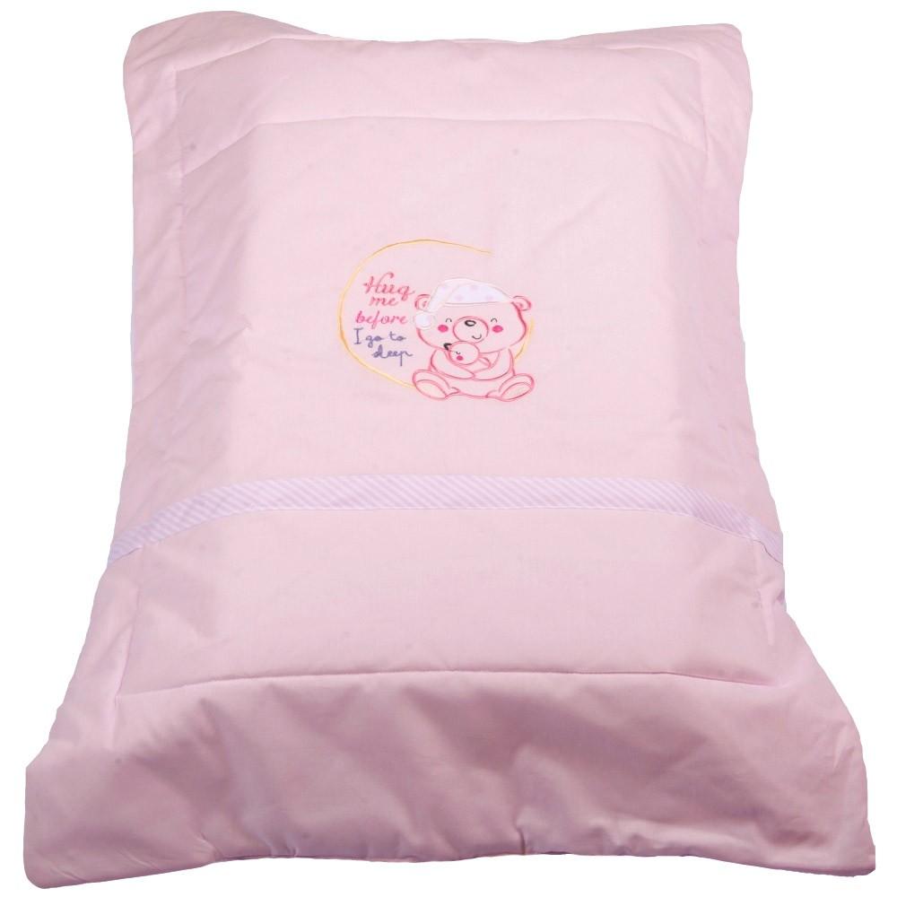 Πάπλωμα Λίκνου Κόσμος Του Μωρού 8958 Sleep Ροζ