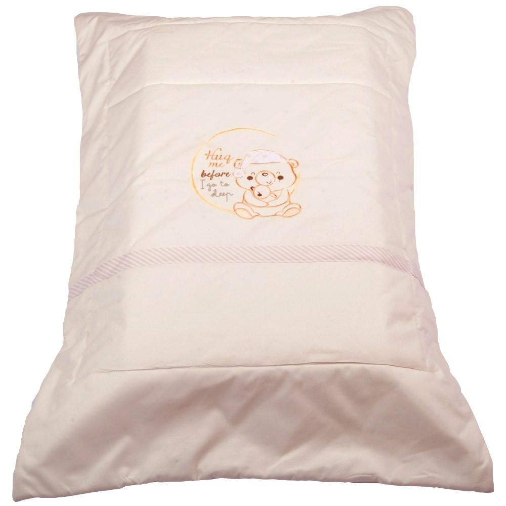 Πάπλωμα Λίκνου Κόσμος Του Μωρού 8958 Sleep Εκρού