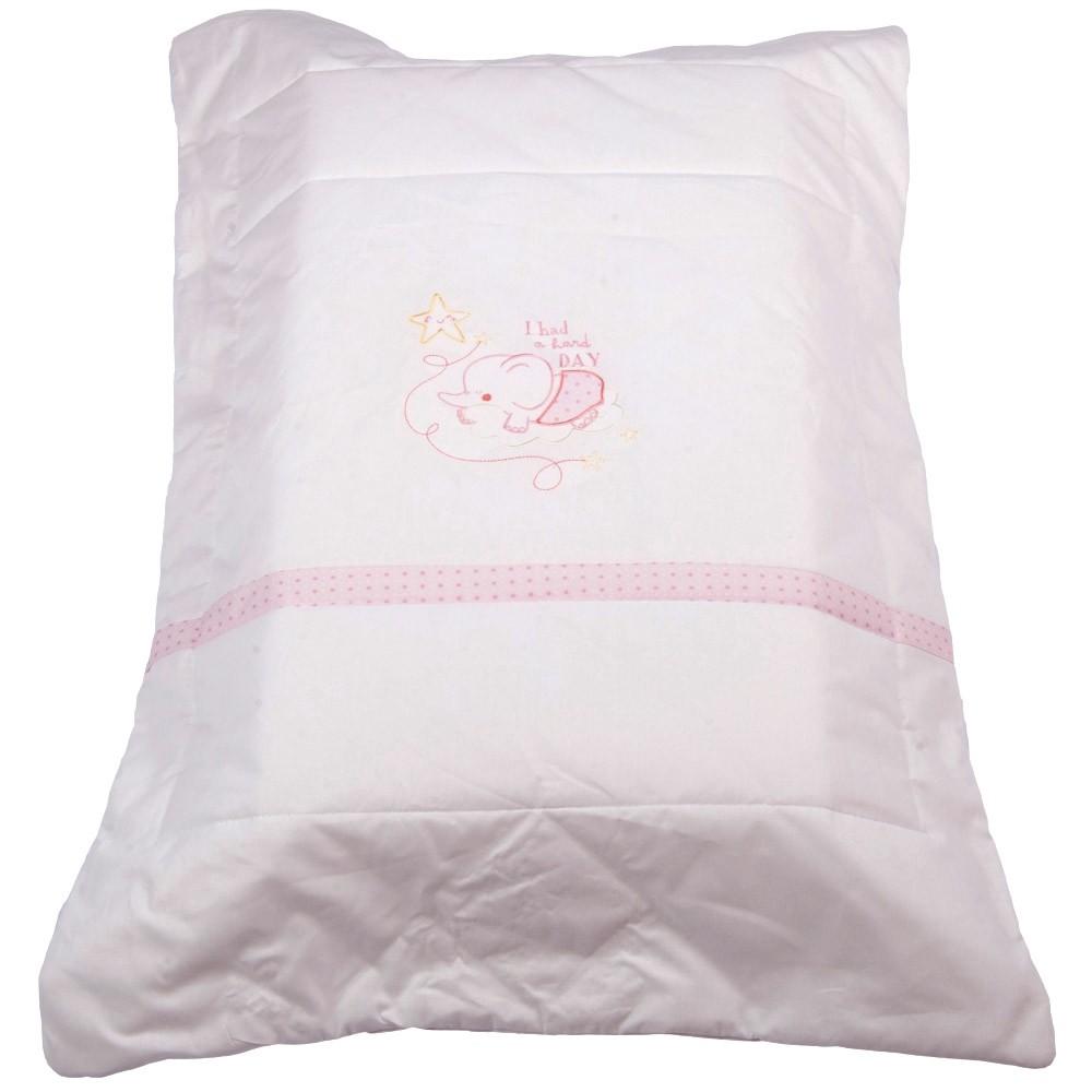 Πάπλωμα Λίκνου Κόσμος Του Μωρού 8959 Hard Day Ροζ