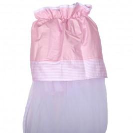 Κουνουπιέρα Κούνιας Κόσμος Του Μωρού 7928 Sleep Ροζ