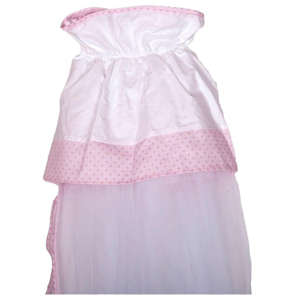 Κουνουπιέρα Κούνιας Κόσμος Του Μωρού 7929 Hard Day Ροζ
