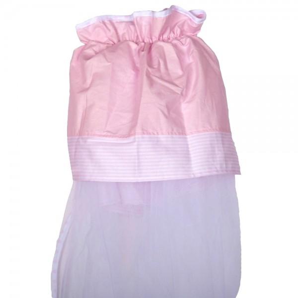 Κουνουπιέρα Λίκνου Κόσμος Του Μωρού 8928 Sleep Ροζ