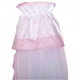 Κουνουπιέρα Λίκνου Κόσμος Του Μωρού 8929 Hard Day Ροζ