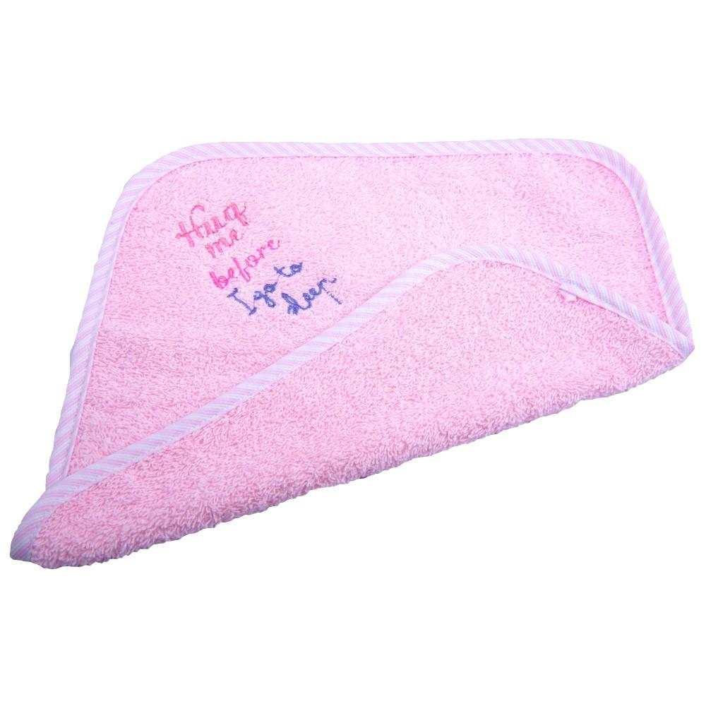 Βρεφική Λαβέτα (30×30) Κόσμος Του Μωρού 0637 Sleep Ροζ