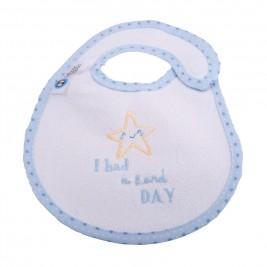 Σαλιάρα Μικρή Κόσμος Του Μωρού 0608 Hard Day Σιέλ