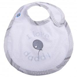 Σαλιάρα Μικρή Κόσμος Του Μωρού 0606 Daddy Γκρι