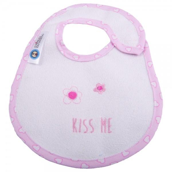 Σαλιάρα Μεσαία Κόσμος Του Μωρού 0609 Kiss Me