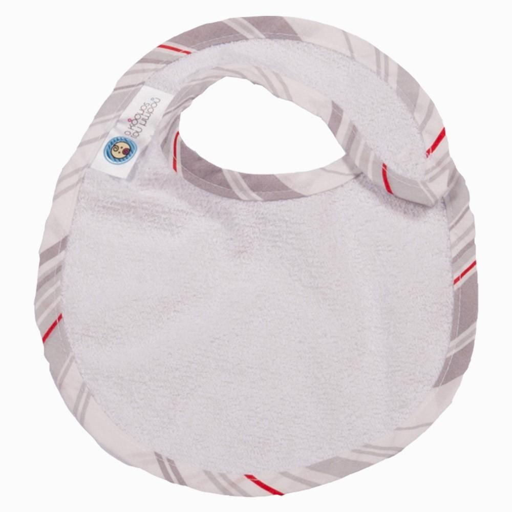 Σαλιάρα Μεσσαία Κόσμος Του Μωρού 0603 Ριγέ Γκρι