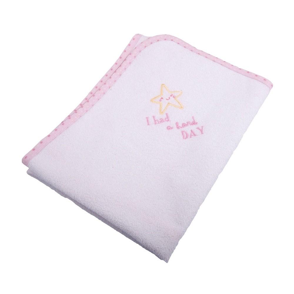 Βρεφικό Σελτεδάκι (40×60) Κόσμος Του Μωρού 0623 Hard Day Ροζ