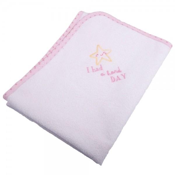 Βρεφικό Σελτεδάκι (60x80) Κόσμος Του Μωρού 0624 Hard Day Ροζ