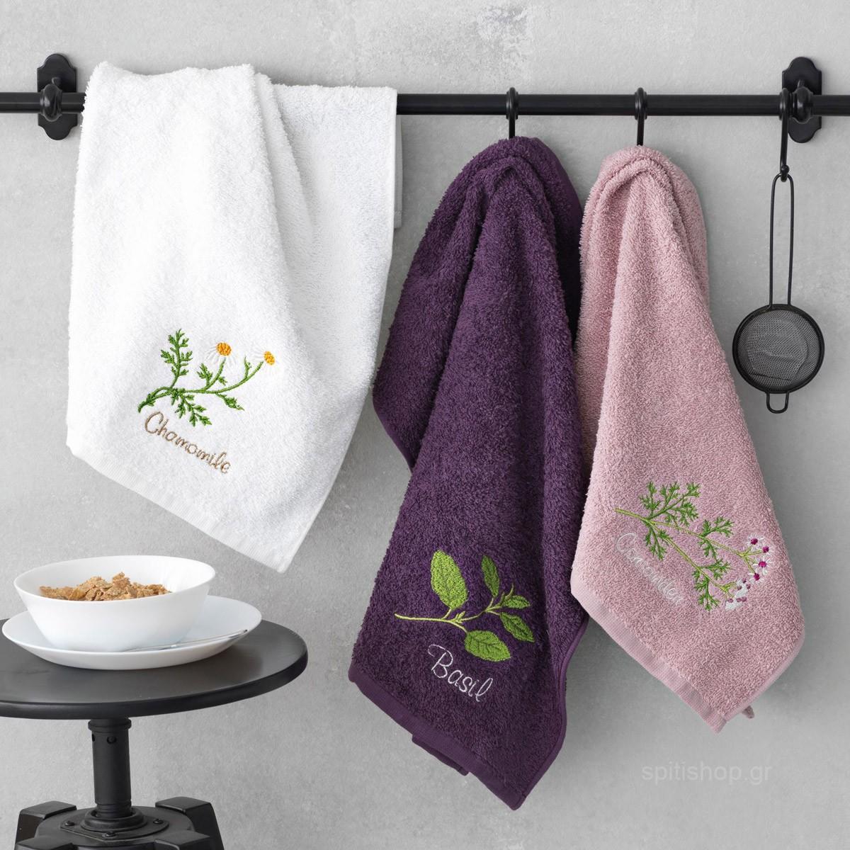 Πετσέτες Κουζίνας (Σετ 3τμχ) Palamaiki Festozi Season