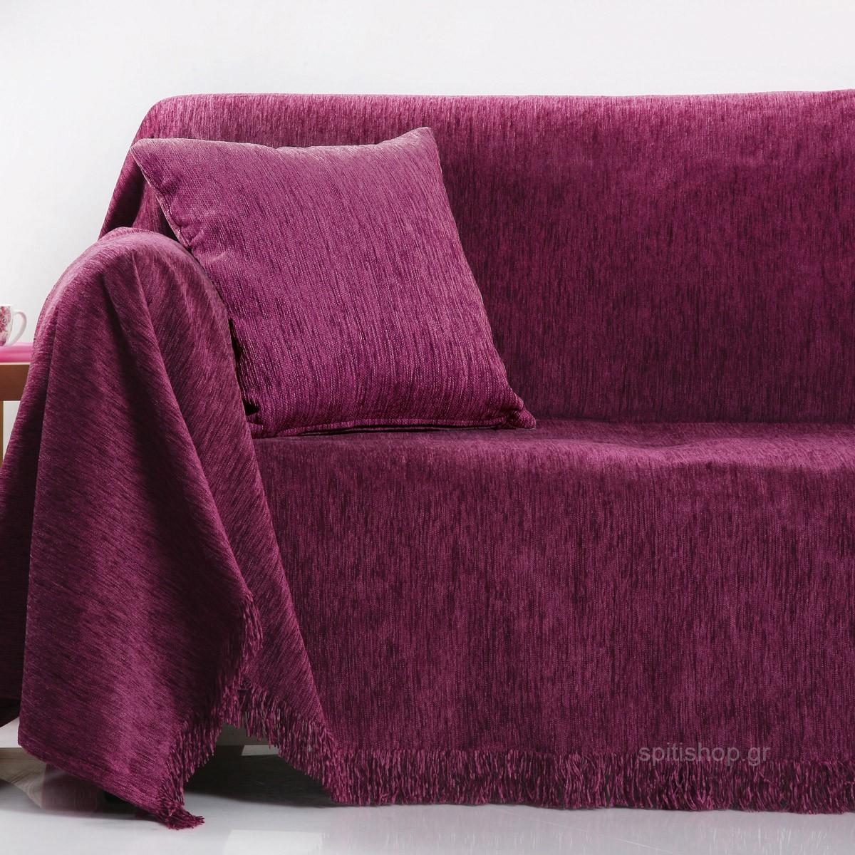 Ριχτάρι Πολυθρόνας (180×180) Anna Riska Des 1300 Lilac
