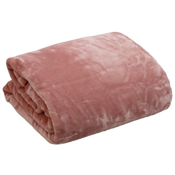 Κουβέρτα Βελουτέ Υπέρδιπλη Anna Riska Blush Pink