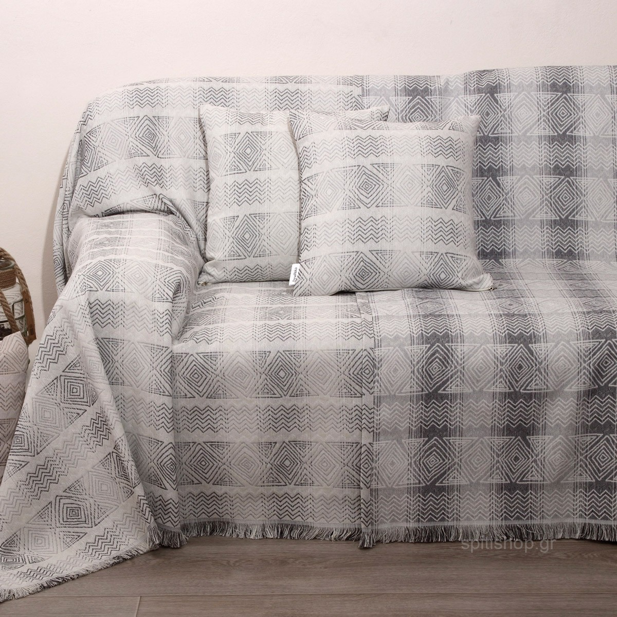 Ριχτάρι Διθέσιου (180×240) Anna Riska Des 1556 Grey