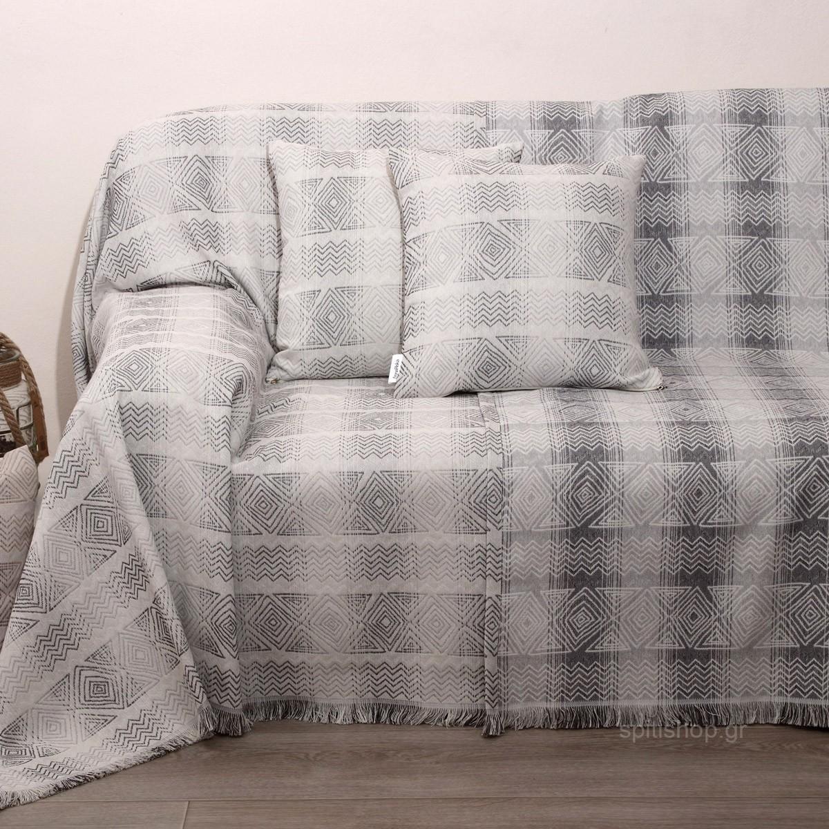 Ριχτάρι Τετραθέσιου (180×320) Anna Riska Des 1556 Grey