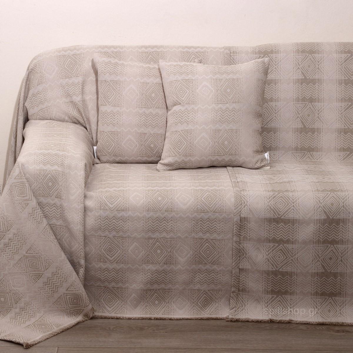 Ριχτάρι Πολυθρόνας (180×150) Anna Riska Des 1556 Beige