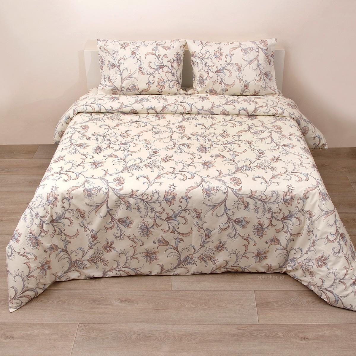 Κουβερλί Ημίδιπλο (Σετ) Viopros Fresh Έβελιν home   κρεβατοκάμαρα   κουβερλί   κουβερλί ημίδιπλα   διπλά