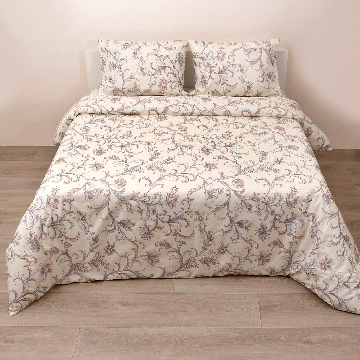 Πάπλωμα Ημίδιπλο (Σετ) Viopros Fresh Έβελιν home   κρεβατοκάμαρα   παπλώματα   παπλώματα ημίδιπλα   διπλά