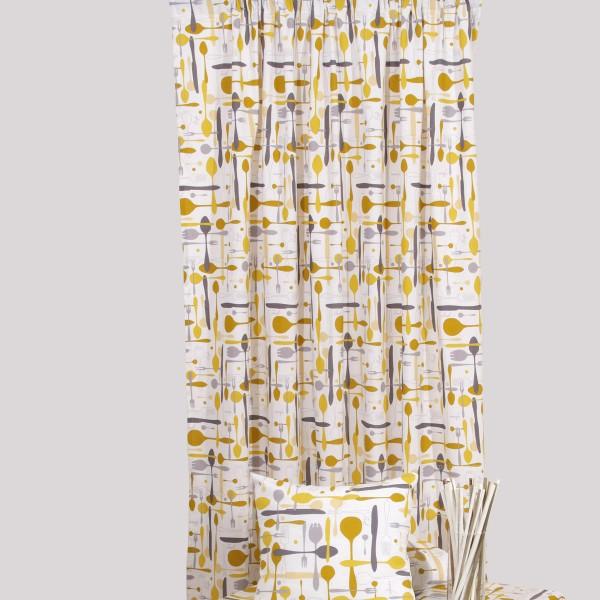 Κουρτίνα (160x270) Με Τρέσα Viopros Λονέτα Ντιζόν