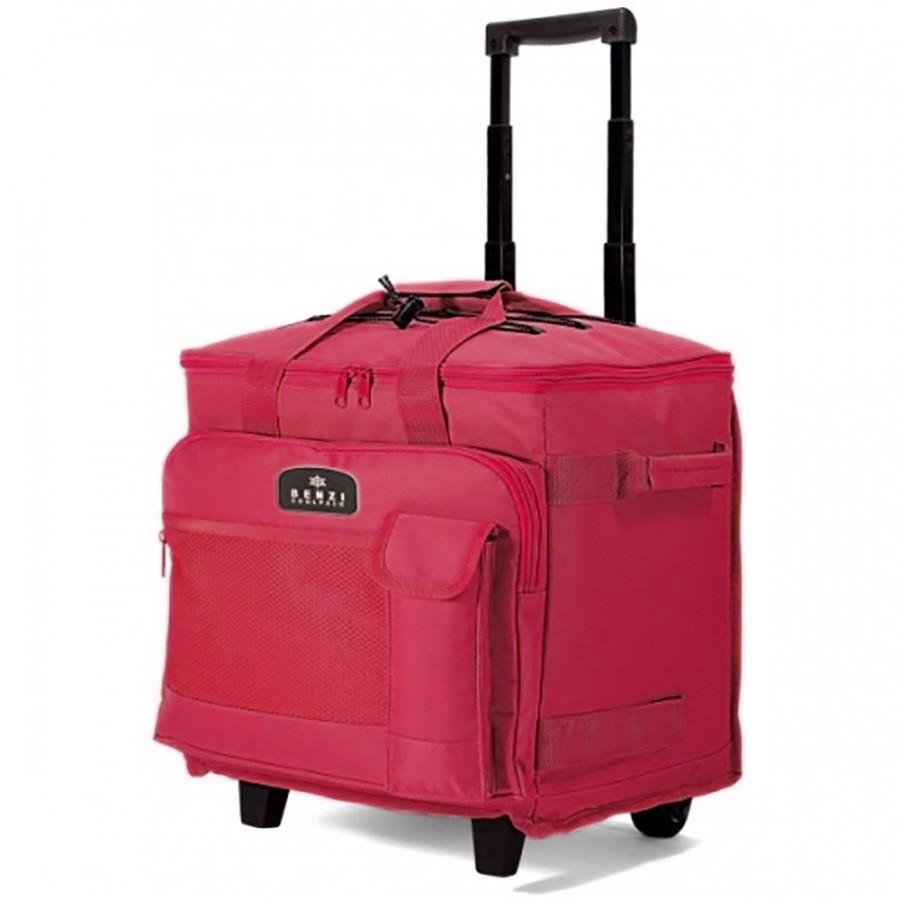Ισοθερμική Φορητή Τσάντα Με Τρόλεϊ (40Lit) Benzi 3595 Red home   θαλάσσης   gadget παραλίας