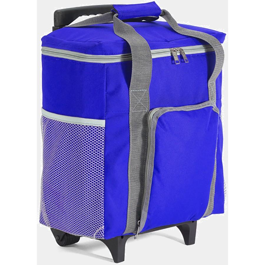 Ισοθερμική Φορητή Τσάντα Με Τρόλεϊ (20Lit) Benzi 4244 Blue home   θαλάσσης   gadget παραλίας