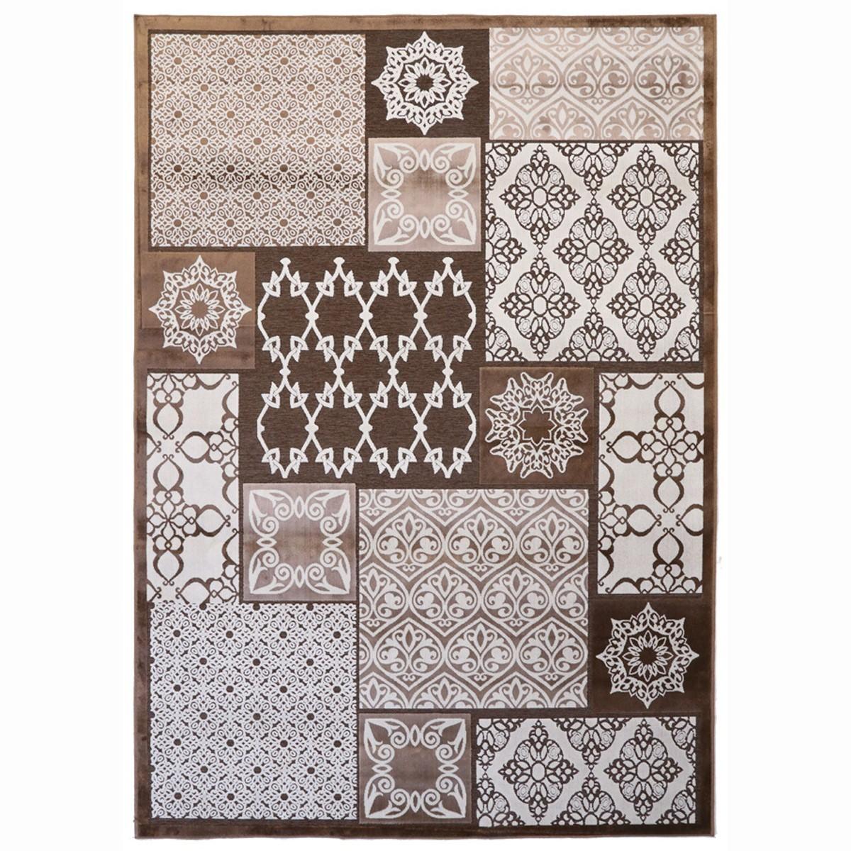 Χαλιά Κρεβατοκάμαρας (Σετ 3τμχ) Royal Carpets Soho Choco 1889-84