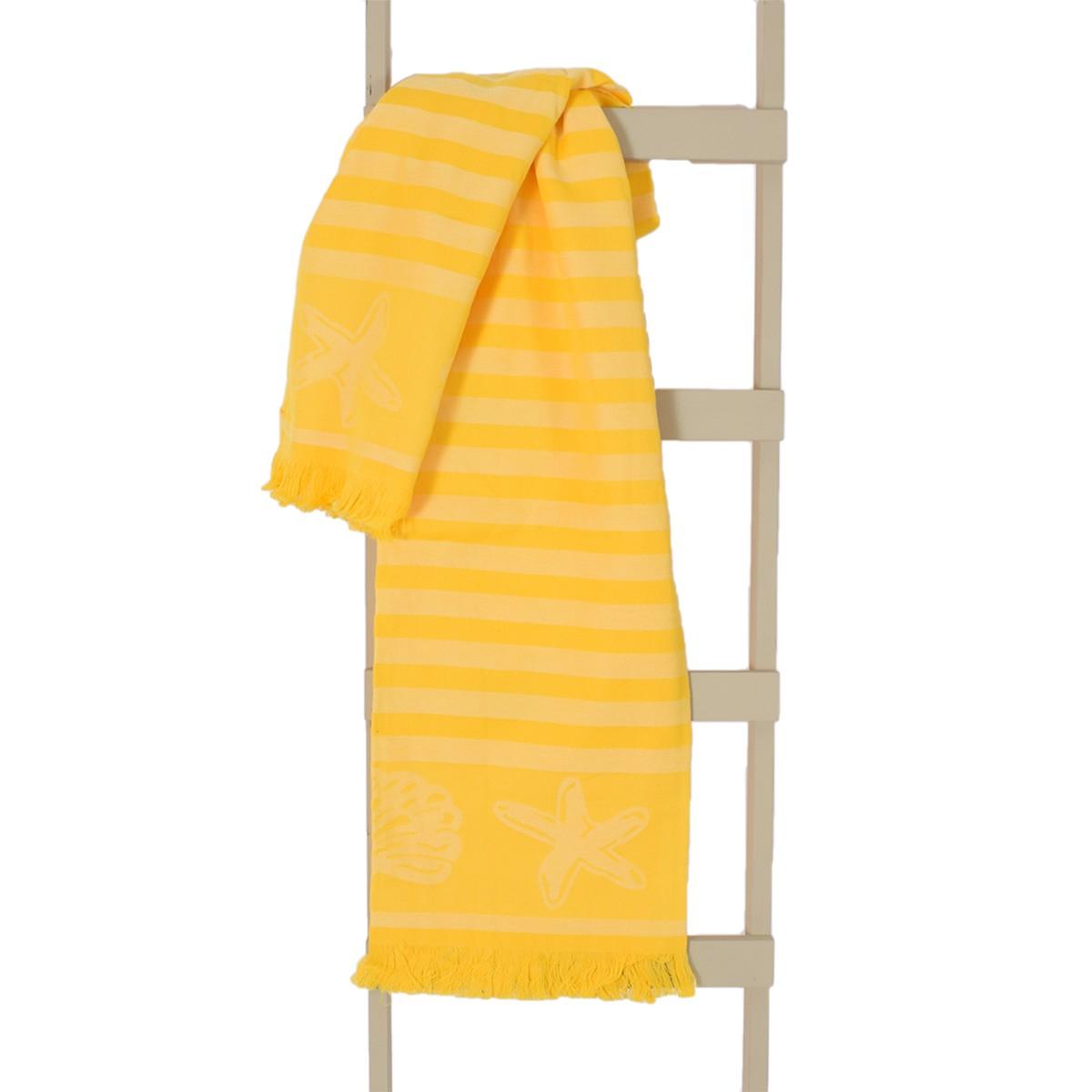 Παρεό Θαλάσσης Rythmos Shell Yellow