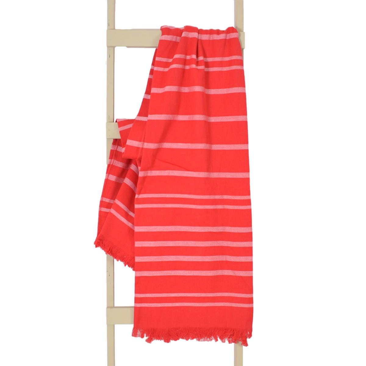 Παρεό Θαλάσσης Rythmos Red Stripes