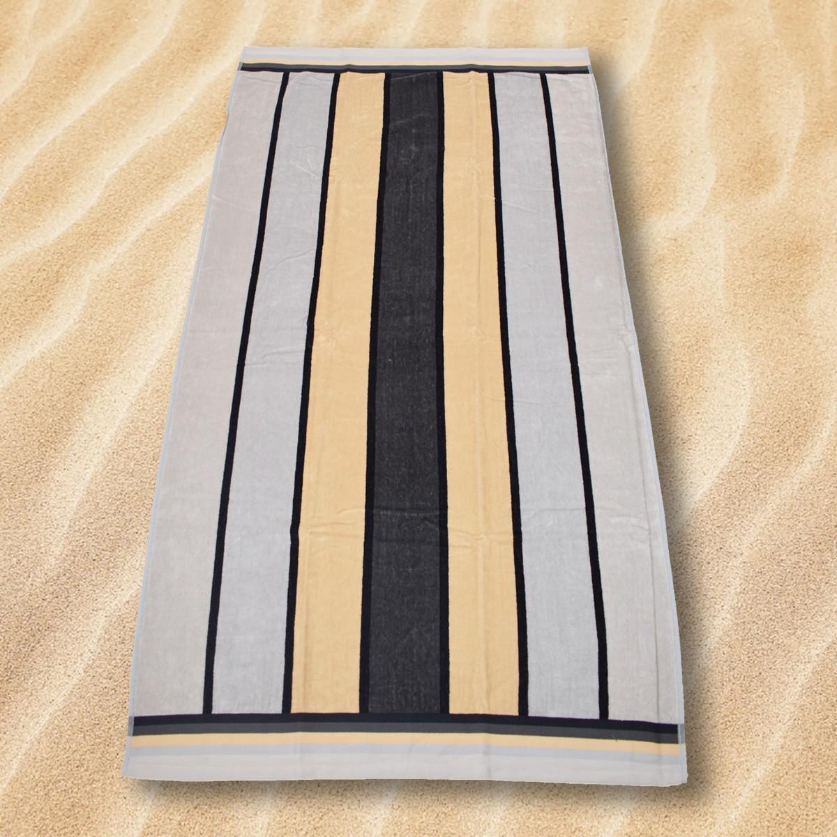Πετσέτα Θαλάσσης Rythmos Bold Stripes