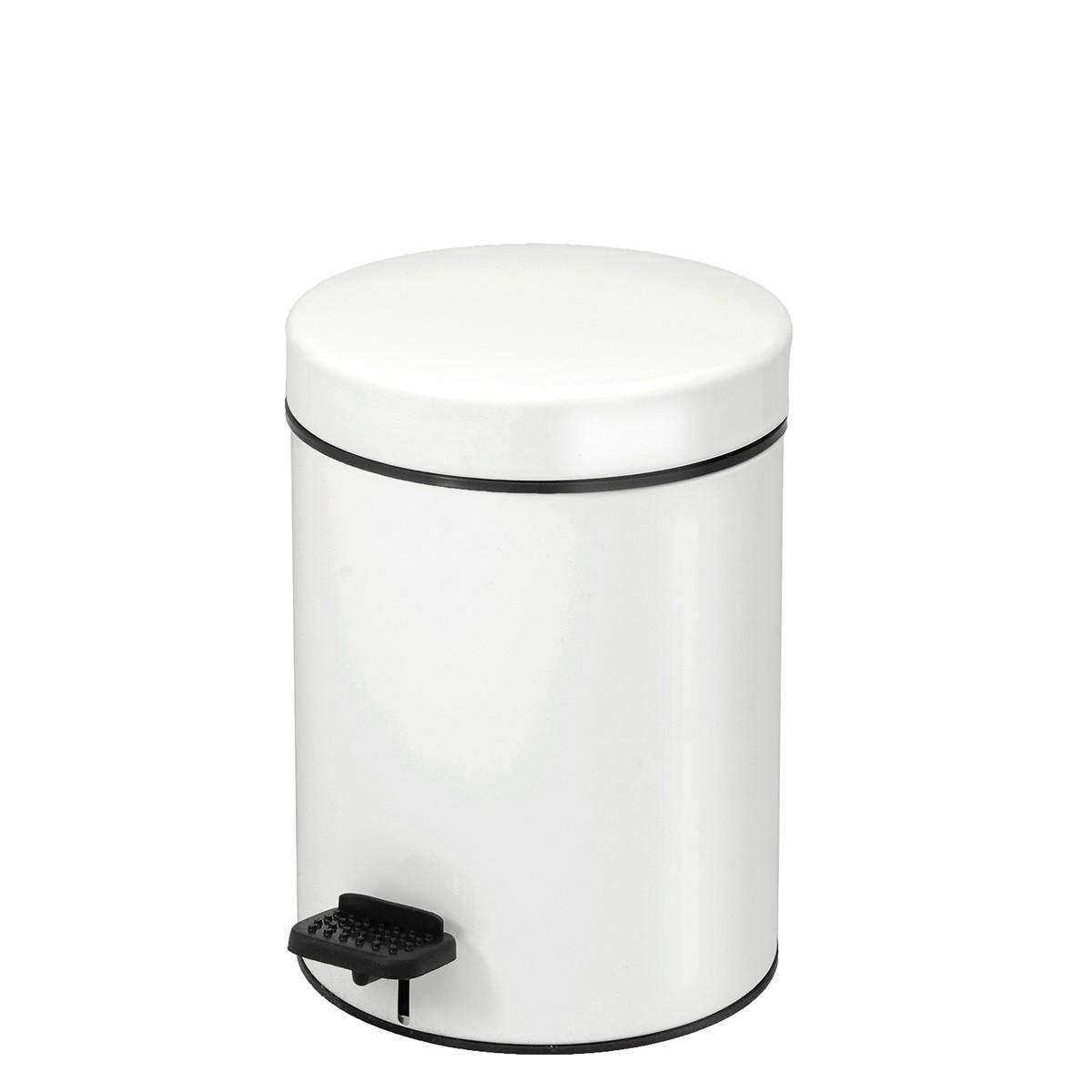 Κάδος Απορριμάτων (18×25) PamCo 3Lit 606 White