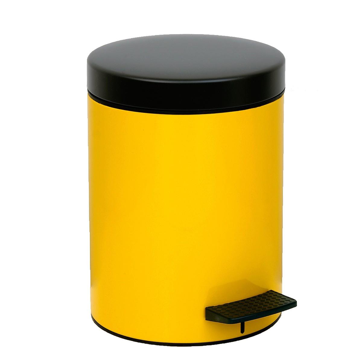 Κάδος Απορριμάτων (20×28) PamCo 5Lit 97 Yellow