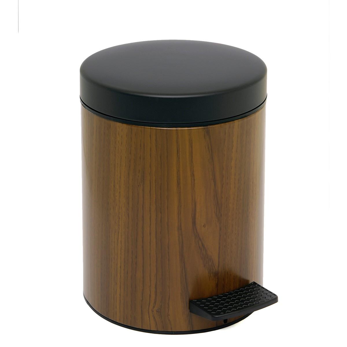 Κάδος Απορριμμάτων (20x28) PamCo 5Lit 227 Wood home   μπάνιο   κάδοι απορριμμάτων