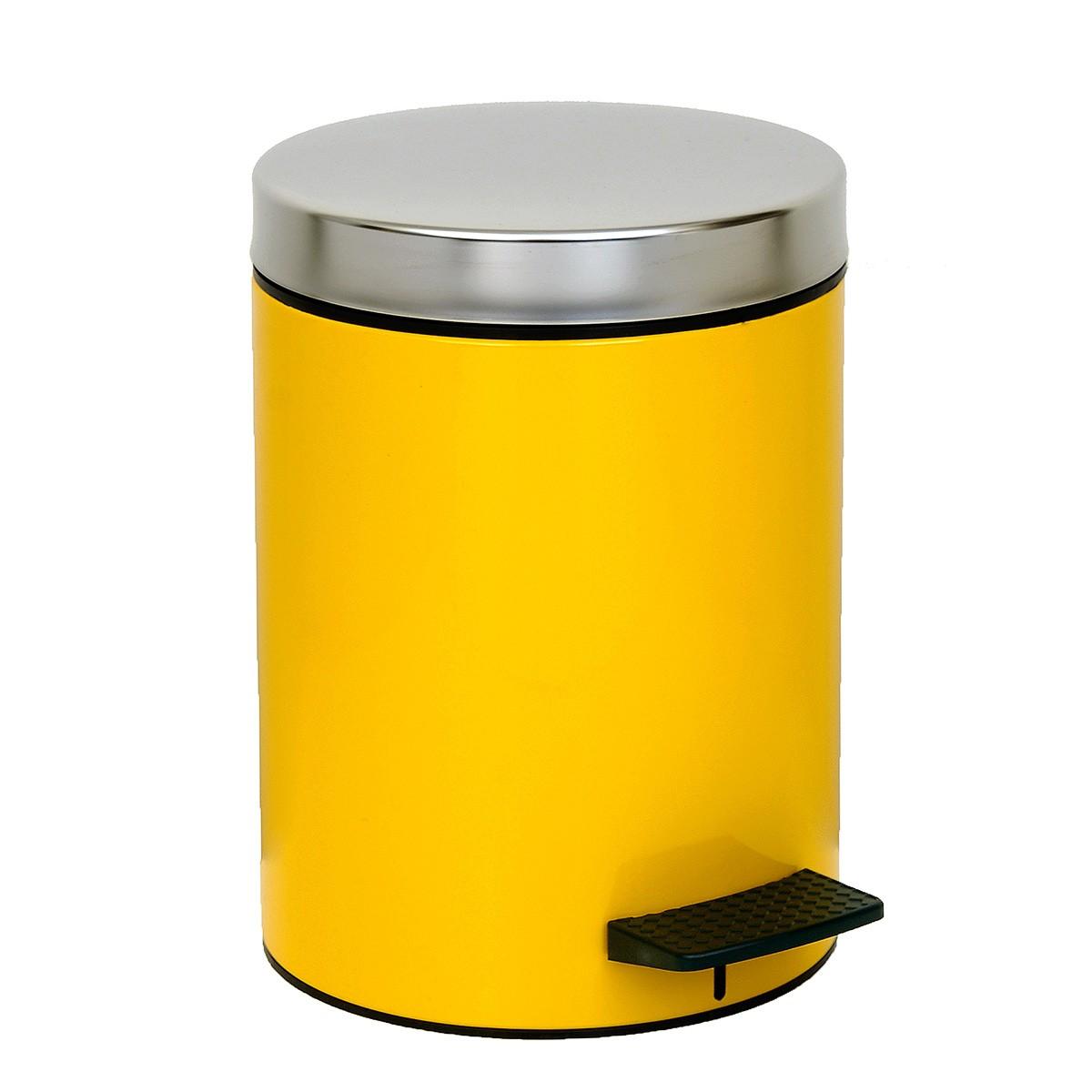 Κάδος Απορριμάτων (20×28) PamCo 5Lit 126 Yellow