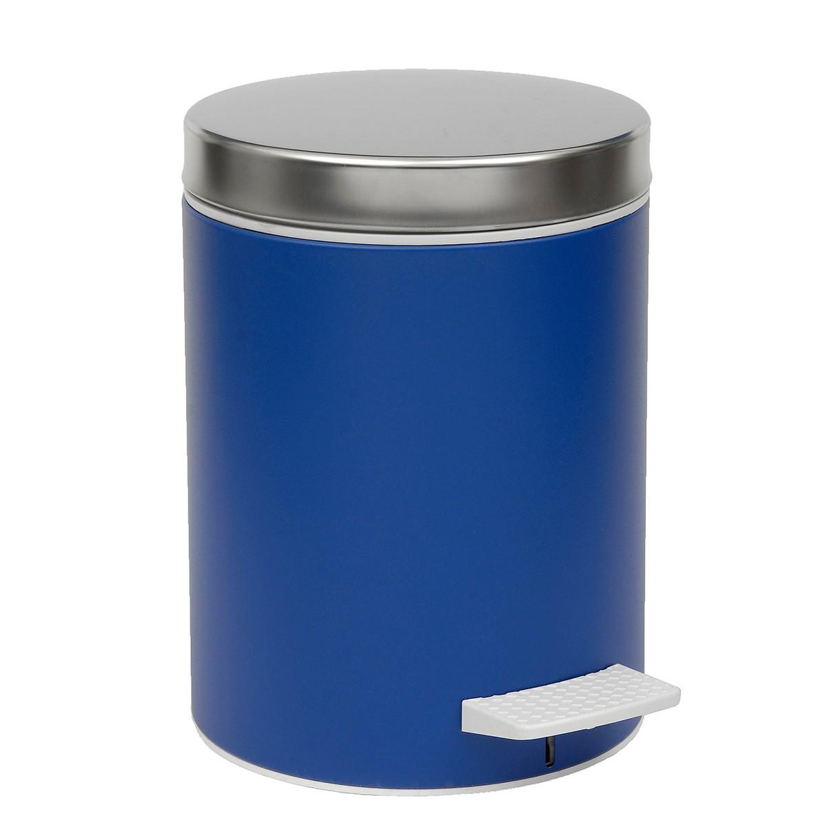 Κάδος Απορριμμάτων (20x28) PamCo 5Lit 126 Dark Blue home   μπάνιο   κάδοι απορριμμάτων