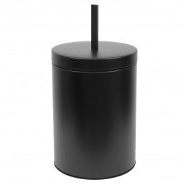 Κάδος Απορριμμάτων (25x48) PamCo 12Lit 12-2548-403 Black Matte