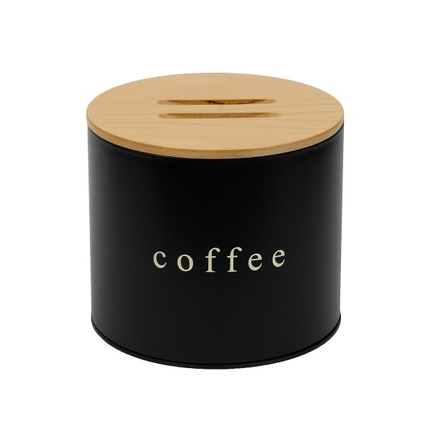 Δοχείο Καφέ PamCo 1816 Black Matte