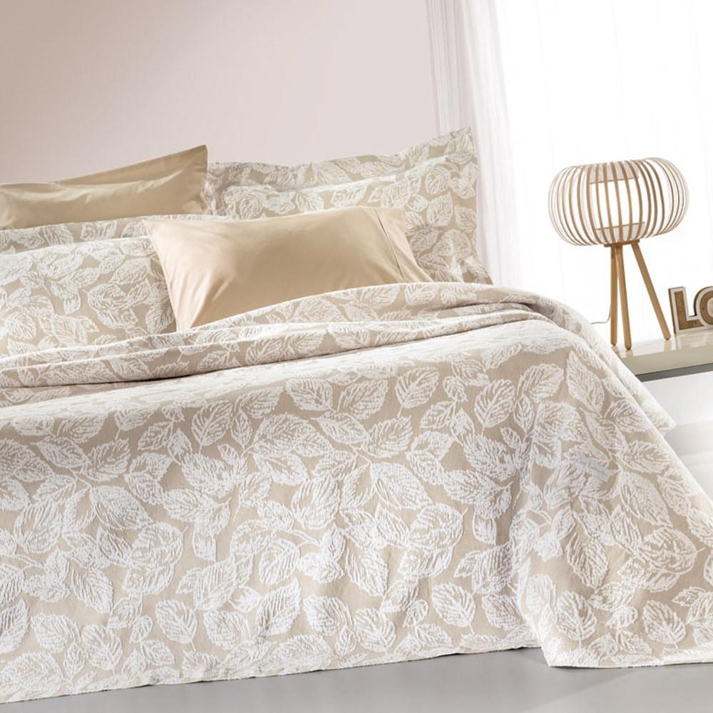 Κουβερτόριο Υπέρδιπλο Guy Laroche Ibis Latte home   κρεβατοκάμαρα   κουβέρτες   κουβέρτες καλοκαιρινές υπέρδιπλες