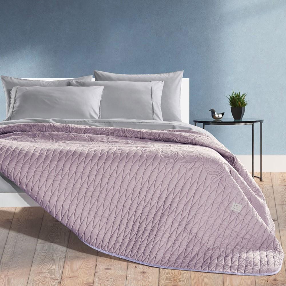 Κουβερλί Μονό 2 Όψεων Guy Laroche Melania Lilac home   κρεβατοκάμαρα   κουβερλί   κουβερλί μονά