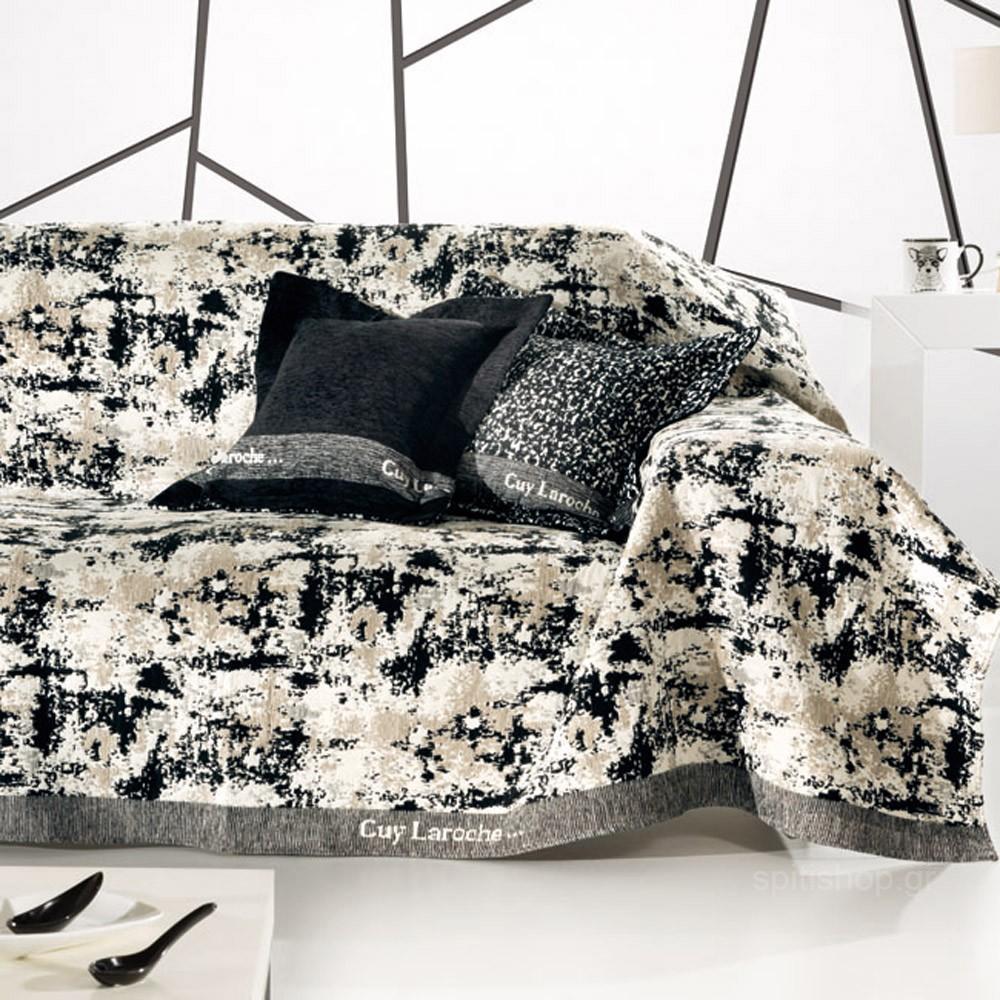 Ριχτάρι Τριθέσιου (170×300) Guy Laroche Lobby Black & White