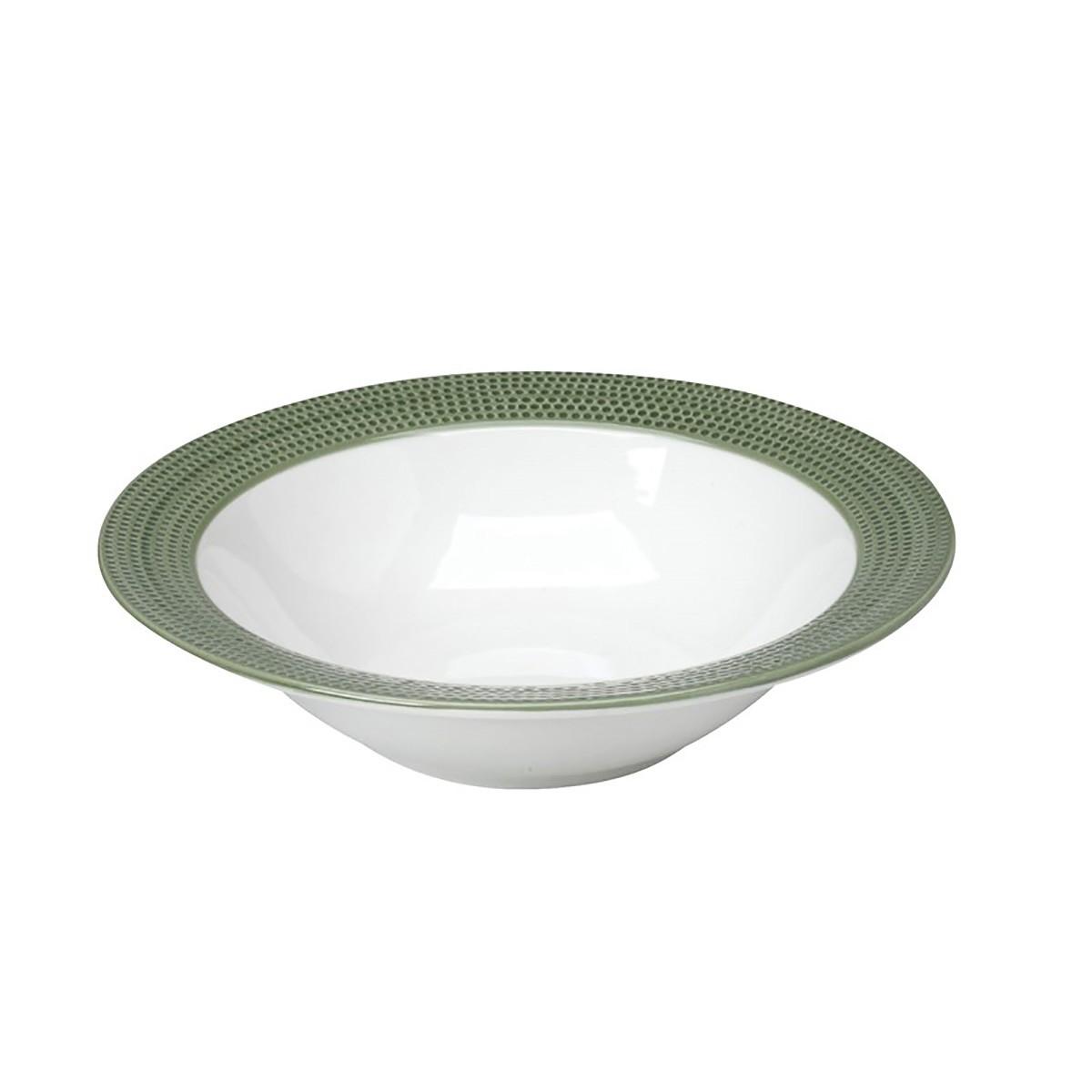 Σαλατιέρα Espiel Dots Green RRB104K2 home   κουζίνα   τραπεζαρία   πιάτα   μπωλ