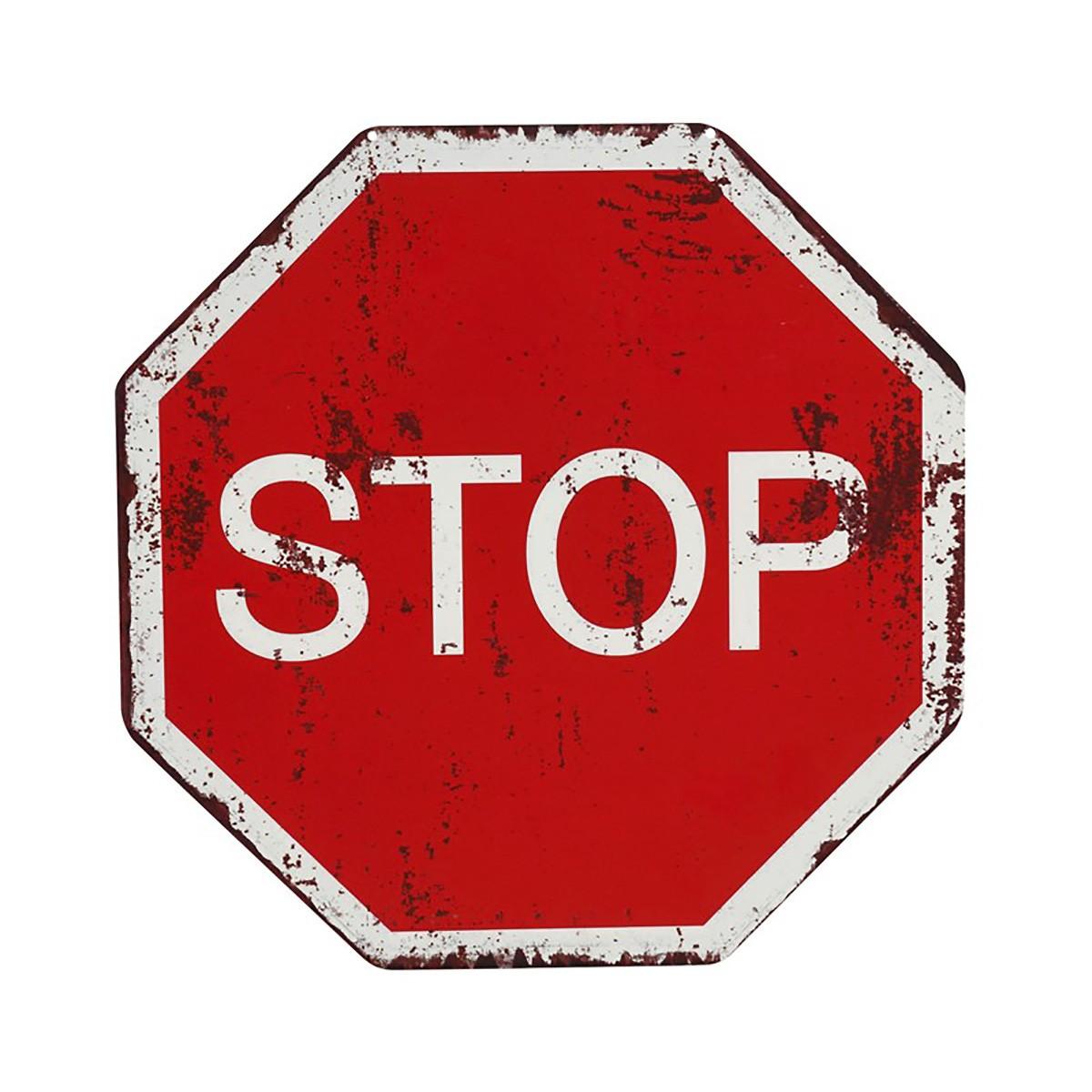 Διακοσμητική Ταμπέλα Espiel Stop LOG409