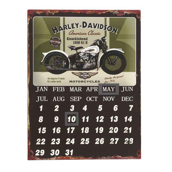 Ταμπέλα - Ημερολόγιο Espiel Harley LOG413