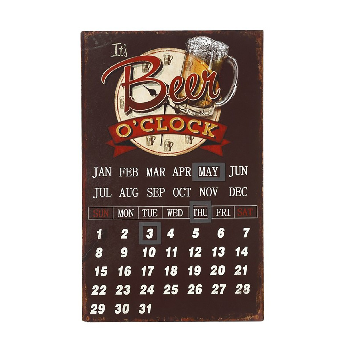 Ταμπέλα – Ημερολόγιο Espiel Beer LOG414