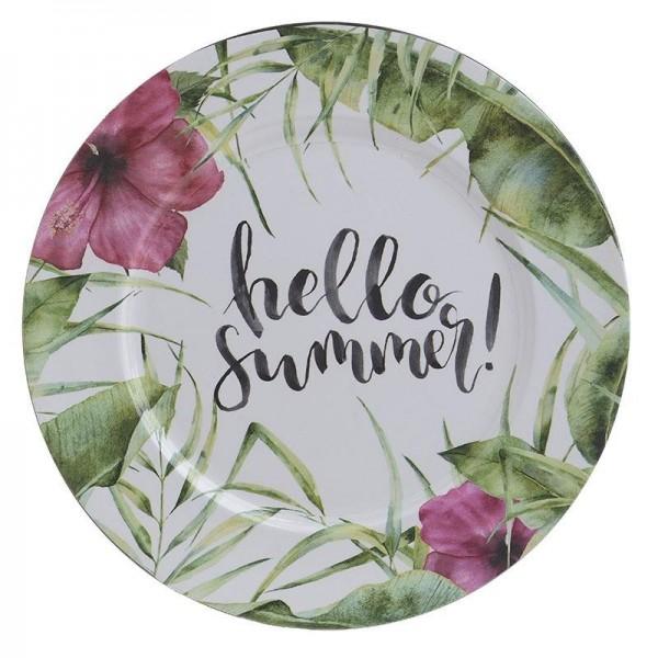 Πιατέλα Διακόσμησης InArt Hello Summer 4-70-019-0003