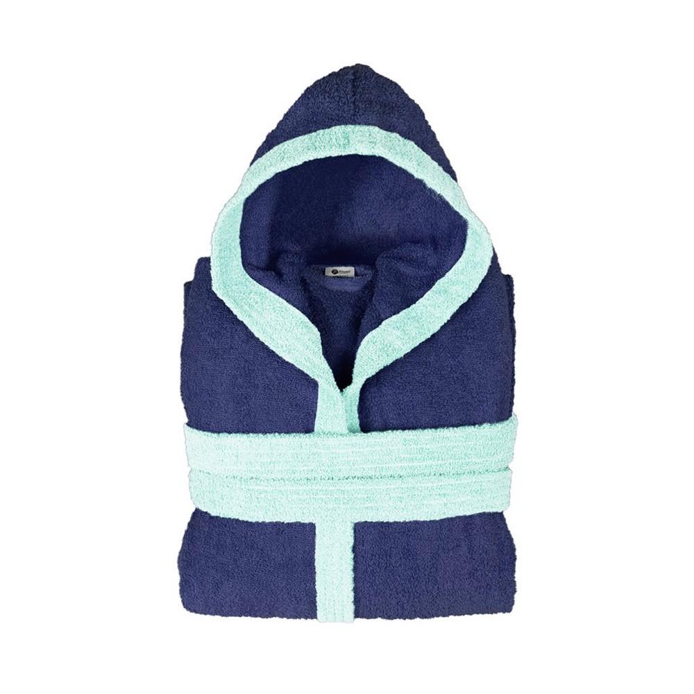 Παιδικό Μπουρνούζι Fennel BiColor Μπλε Νο12-14 Νο12-14