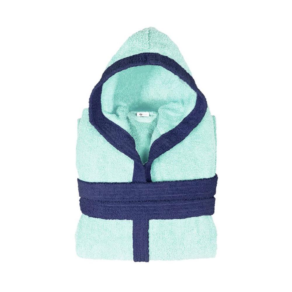 Παιδικό Μπουρνούζι Fennel BiColor Γαλάζιο Νο12-14 Νο12-14